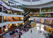 商城内部在新加坡 库存照片