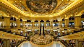 商城在威尼斯式澳门 免版税库存图片