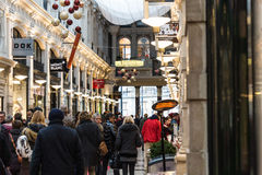 商城在市海牙在荷兰 免版税图库摄影