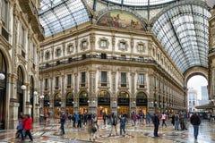商城在米兰,意大利 库存图片