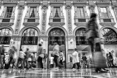 商城在米兰,意大利 库存照片
