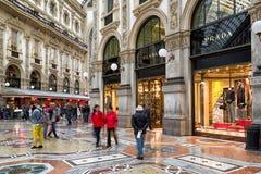 商城在米兰,意大利 图库摄影