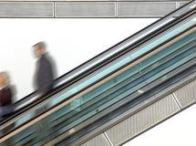 商城自动扶梯 库存照片