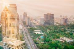 商城,人群,路,街道,曼谷 免版税库存图片