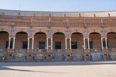 1992年商展大厦在塞维利亚 西班牙 免版税图库摄影
