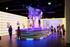 商展米兰2015年-俄罗斯 免版税库存照片