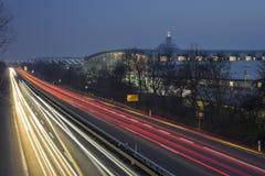 商展高速公路在汉诺威 库存图片