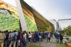 商展2015年米兰-意大利 免版税库存图片