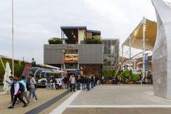 商展2015年米兰-意大利 库存照片