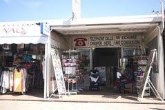 商店在伊维萨岛 库存图片