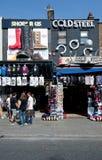 商店在坎登镇,伦敦 免版税库存图片