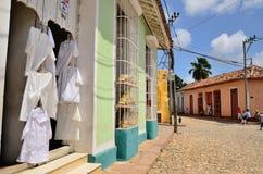 商店在特立尼达,古巴 免版税图库摄影