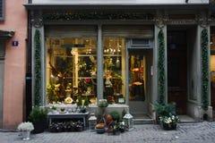 商店在苏黎世 免版税图库摄影