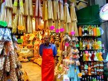 商店在那不勒斯 免版税库存照片