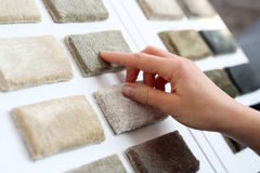 商店地毯 免版税库存图片