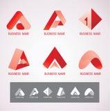 商标和标志设计A概念 库存图片