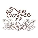 商标咖啡 免版税库存图片