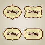 商标或标志的葡萄酒横幅 库存照片
