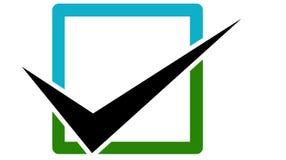 商标检查标志-传染媒介 图库摄影