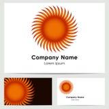 商标设计,名片模板 图库摄影