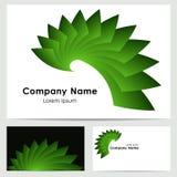 商标设计,名片模板 免版税库存照片