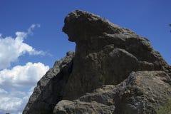 啜泣的岩石 免版税库存照片
