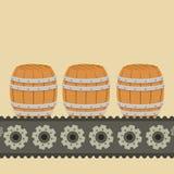 啤酒产业设计 库存照片