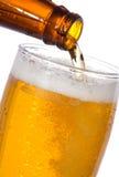啤酒倾吐 库存照片