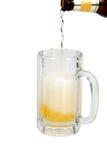 啤酒冷泡沫似的冰 库存照片