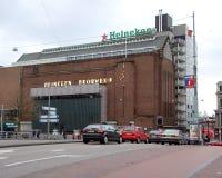 啤酒厂海涅肯在阿姆斯特丹 免版税库存图片