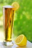 啤酒寒冷柠檬 免版税库存照片