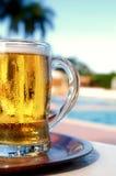 啤酒射击 免版税图库摄影