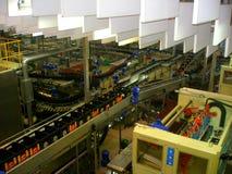 啤酒工厂技术制造过程 免版税图库摄影