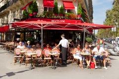 啤酒店在巴黎 免版税库存图片
