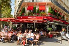 啤酒店在巴黎 免版税库存照片