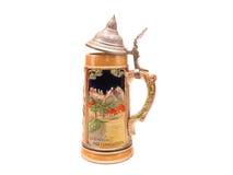 啤酒德国人啤酒杯 免版税库存图片