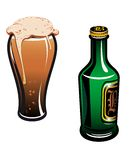 啤酒德语 库存图片