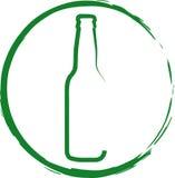 啤酒徽标 免版税库存照片