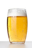 啤酒新鲜的玻璃 免版税库存图片