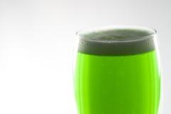 啤酒杯绿色 免版税库存照片
