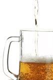 啤酒杯 库存照片