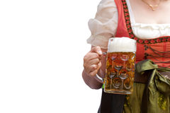 啤酒杯 图库摄影