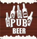 啤酒构思设计 库存图片