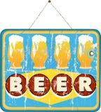 啤酒标志 免版税图库摄影