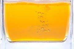 啤酒泡影。 免版税图库摄影