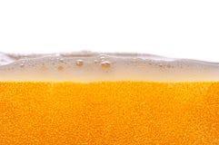 啤酒泡影。 免版税库存图片