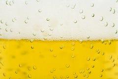 啤酒泡沫 免版税库存图片