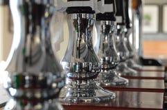 啤酒泵浦 免版税图库摄影