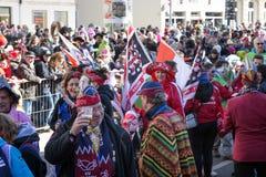 啤酒狂欢节在高声望也举行 库存照片