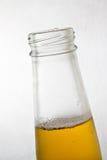 啤酒瓶关闭 免版税图库摄影